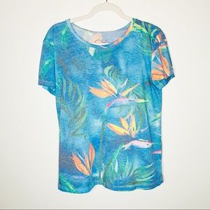 Chaser Birds of Paradise Graphic Short Sleeve Tee